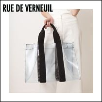 RUE DE VERNEUIL Casual Style Totes