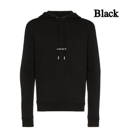 Saint Laurent Hoodies Pullovers Long Sleeves Plain Cotton Hoodies 2