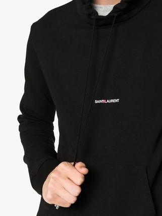 Saint Laurent Hoodies Pullovers Long Sleeves Plain Cotton Hoodies 8