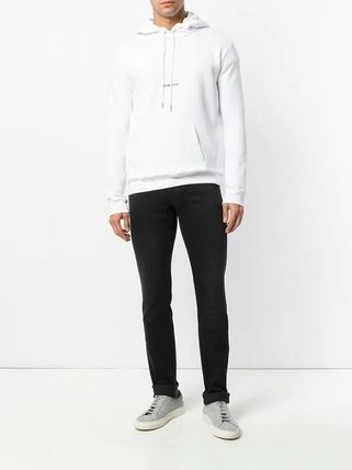 Saint Laurent Hoodies Pullovers Long Sleeves Plain Cotton Hoodies 10