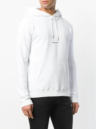 Saint Laurent Hoodies Pullovers Long Sleeves Plain Cotton Hoodies 11
