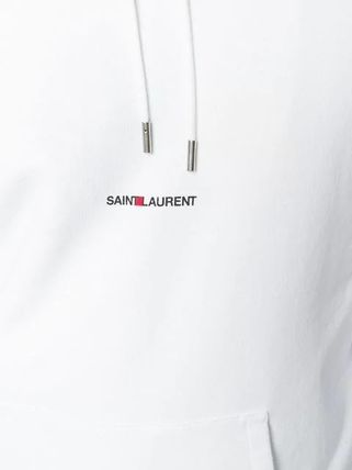 Saint Laurent Hoodies Pullovers Long Sleeves Plain Cotton Hoodies 13