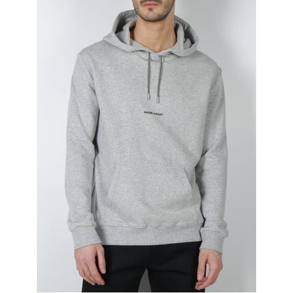 Saint Laurent Hoodies Pullovers Long Sleeves Plain Cotton Hoodies 15