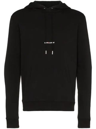 Saint Laurent Hoodies Pullovers Long Sleeves Plain Cotton Hoodies 18