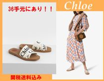 Chloe Open Toe Casual Style Shower Shoes Flat Sandals