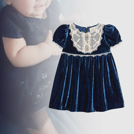845ae7618 ... GUCCI Baby Girl Dresses & Rompers Blended Fabrics Baby Girl Dresses ...