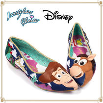 Disney Casual Style Street Style Collaboration Flats