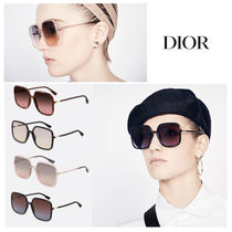Christian Dior Square Oversized Sunglasses