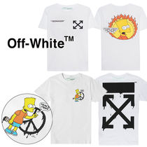 Off-White Crew Neck T-Shirts