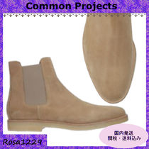 Common Projects Suede Chelsea Boots Chelsea Boots