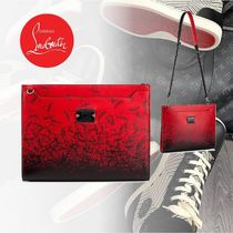Christian Louboutin Calfskin 2WAY Clutches