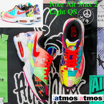 Nike AIR MAX Unisex Street Style Collaboration Low-Top Sneakers