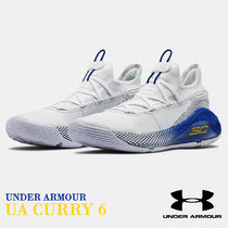 UNDER ARMOUR CURRY Street Style Collaboration Oversized Logo Sneakers