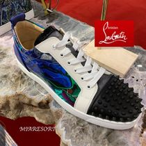 Christian Louboutin LOUIS Studded Street Style Sneakers