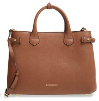 Burberry A4 2WAY Elegant Style Totes