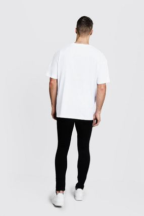 Street Style Short Sleeves T-Shirts