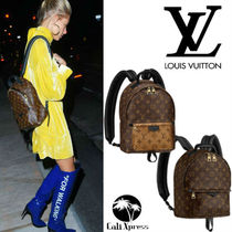 Louis Vuitton MONOGRAM MACASSAR Monogram Unisex Leather Backpacks