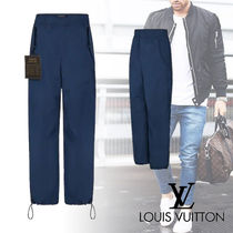 Louis Vuitton Nylon Plain Cargo Pants