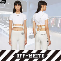 Off-White Casual Style Plain Leather Handmade Accessories
