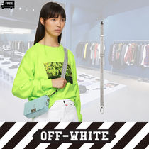 Off-White Casual Style Plain Handmade Bags