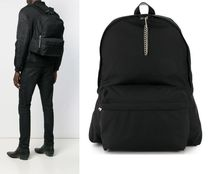 CELINE Street Style Plain Backpacks