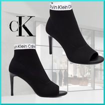 Calvin Klein Open Toe Pin Heels Ankle & Booties Boots