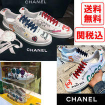 CHANEL Unisex Street Style Collaboration Sneakers