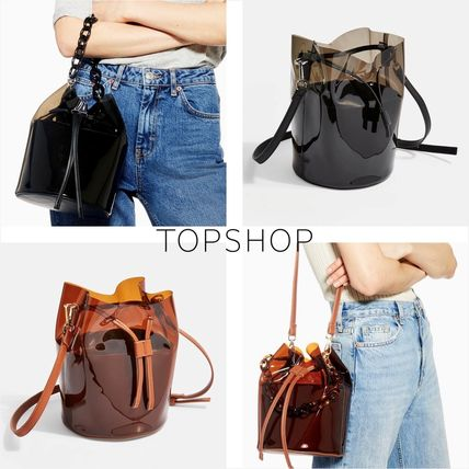 Casual Style Street Style 2WAY Plain Shoulder Bags