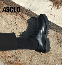 ASCLO Plain Leather Oxfords