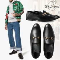 GUCCI Street Style Leather V Tips Oxfords