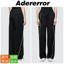 ADERERROR Sweat Plain Sweatpants