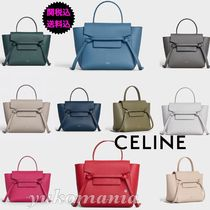 CELINE Belt Leather Handbags