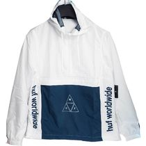 HUF Short Bi-color Coach Jackets Coach Jackets