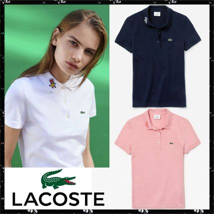 Casual Style Collaboration Cotton Medium Short Sleeves