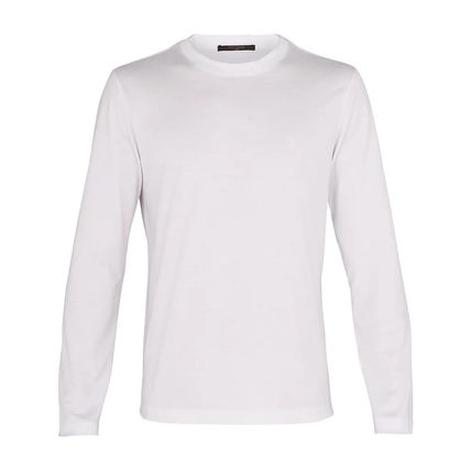 Louis Vuitton Long Sleeve Crew Neck Unisex Long Sleeves Cotton Long Sleeve T-Shirts 7