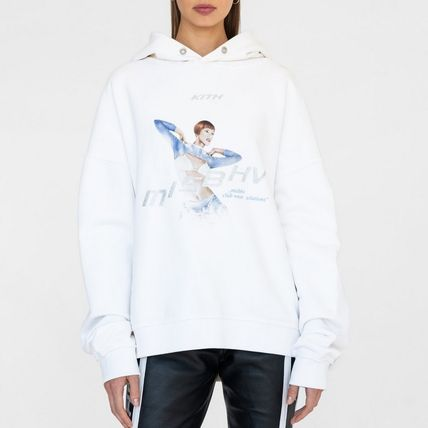 Sweat Street Style Long Sleeves Hoodies & Sweatshirts