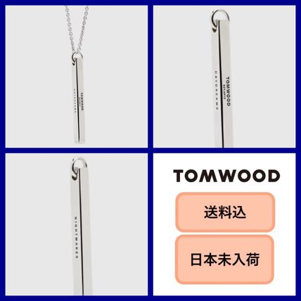 Casual Style Unisex Street Style Silver Necklaces & Pendants