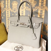 HERMES Birkin Leather Handbags