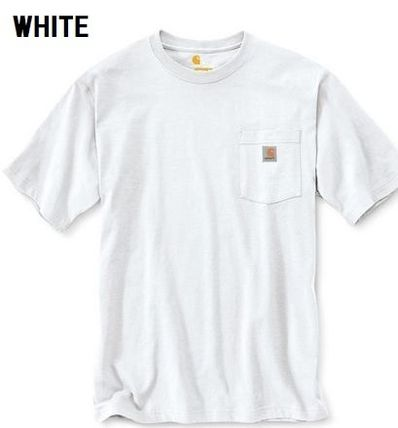 Carhartt More T-Shirts Unisex Street Style Plain Cotton Short Sleeves Oversized 4