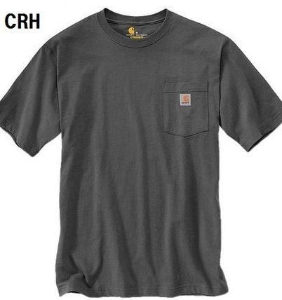 Carhartt More T-Shirts Unisex Street Style Plain Cotton Short Sleeves Oversized 5