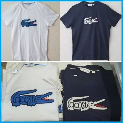 LACOSTE More T-Shirts Unisex Cotton Short Sleeves T-Shirts