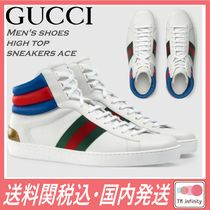 GUCCI Leather Sneakers