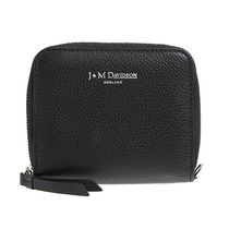 J & M Davidson Plain Leather Folding Wallets