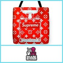 SHANE BOWDEN Unisex Street Style Totes