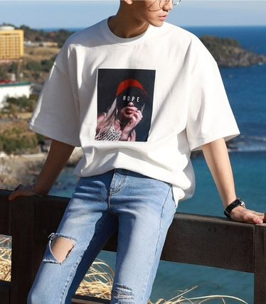 ASCLO More T-Shirts Cotton Short Sleeves Oversized T-Shirts 3