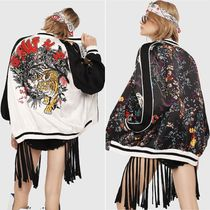 DIESEL Flower Patterns Medium Souvenir Jackets
