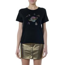 Saint Laurent Star Casual Style Cotton Medium Short Sleeves