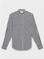 CELINE Button-down Stripes Long Sleeves Cotton Handmade Shirts