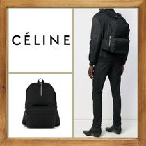 CELINE A4 2WAY Chain Plain Leather Backpacks