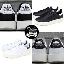 adidas STAN SMITH Dots Unisex Street Style Leather Sneakers